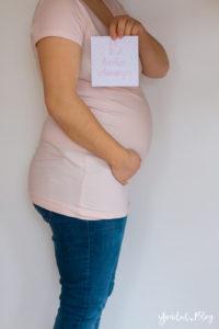 15. SSW Schwangerschaftswoche Schwangerschaftsupdate Milestonecard Schwangerschaft Babybauch | https://youdid.blog