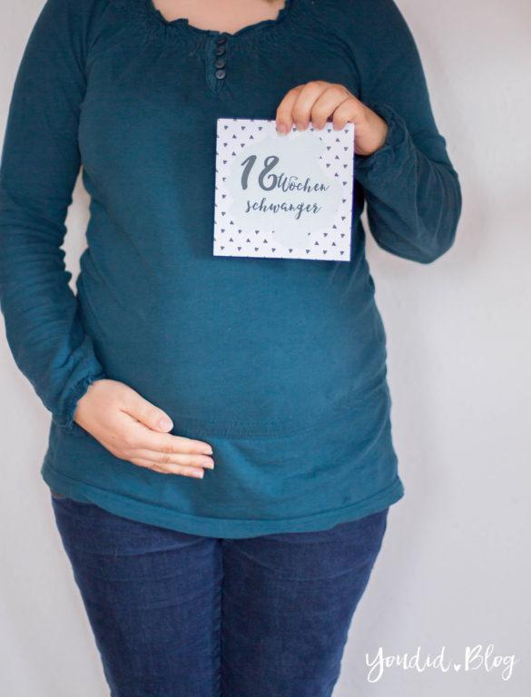 18. Schwangerschaftswoche Schwangerschaftsupdate Baby Belly Babybauch Baby Bump | https://youdid.blog