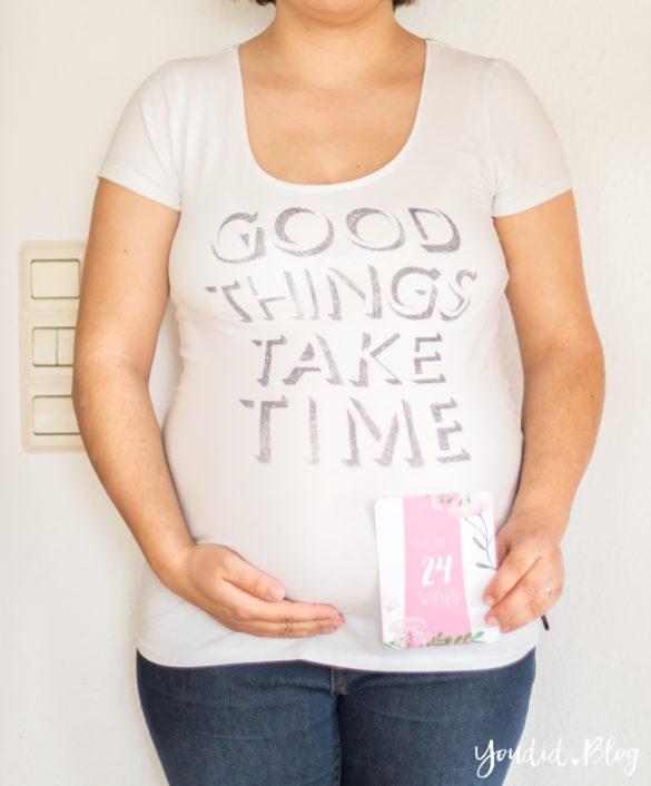 24. Schwangerschaftswoche Schwangerschaftsupdate Babybauch Baby Bump Bauchfotos | https://youdid.blog