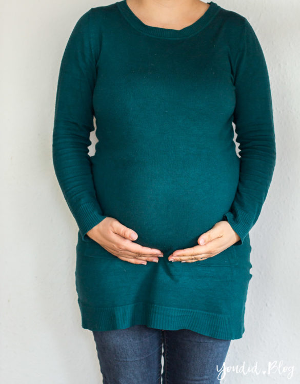 25. Schwangerschaftswoche Schwangerschaftsupdate Babybauch Baby Bump Bauchfotos Baby Belly | https://youdid.blog