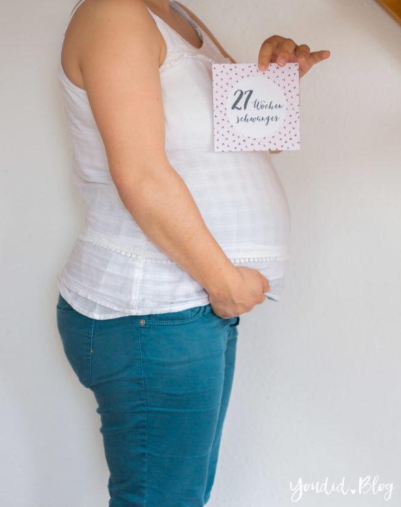 27. Schwangerschaftswoche Schwangerschaftsupdate Babybauch Baby Bump Bauchfotos Baby Belly | https://youdid.blog