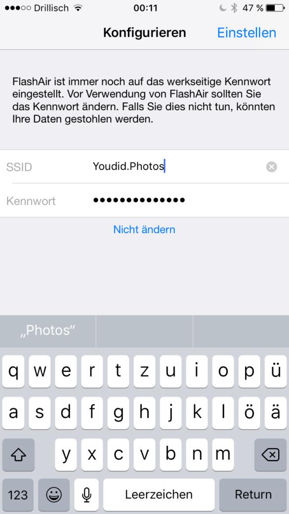 Bilder von deiner Spiegelreflex direkt aufs Handy kopieren und auf Instagram posten mit einer WLAN SD-Karte | https://youdid.blog