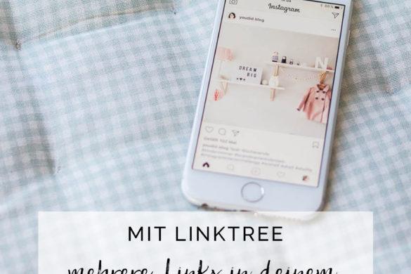 Mit Linktree mehrere Links in deiner Instagram Bio teilen | https://youdid.blog