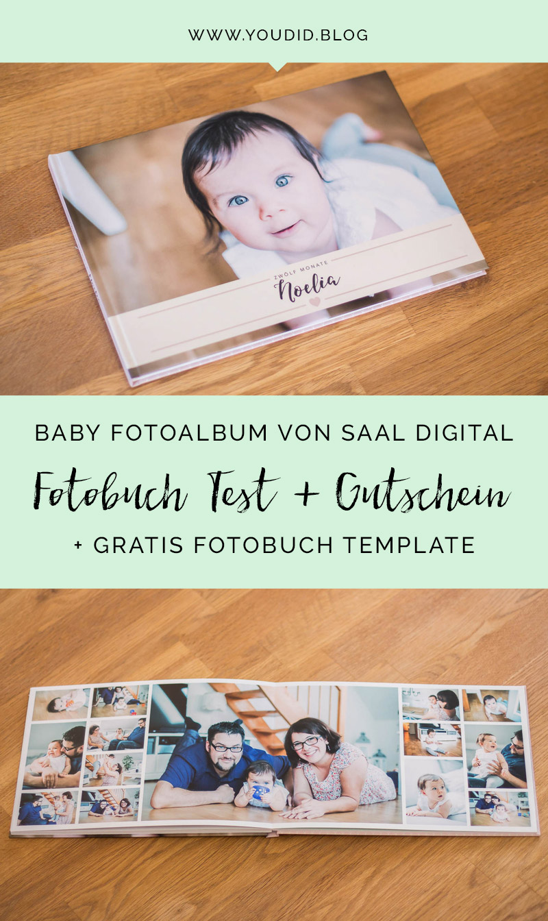 Fotoalbum Babys First Year Babyalbum Saal Digital Fotobuch Test Gutschein Free Fotobuch Cover Template Photobook | https://youdid.blog