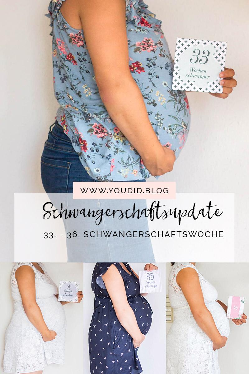 33.-36. Schwangerschaftswoche Schwangerschaftsupdate Babybauch Baby belly