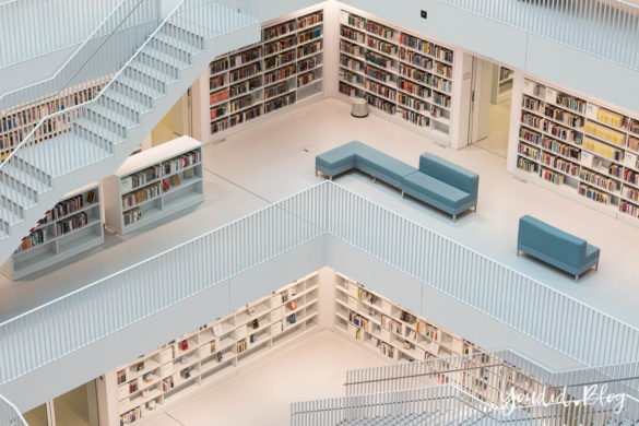 Stadtbücherei Bibliothek Library Stadtbibliothek Stuttgart | https://youdid.blog