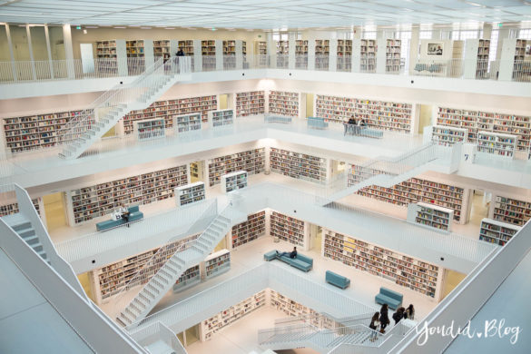 Stadtbücherei Stadtbibliothek Stuttgart Bibliothek Library Galerie | https://youdid.blog