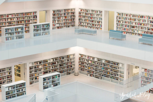 Stadtbücherei Stuttgart Bibliothek Library Architecture | https://youdid.blog