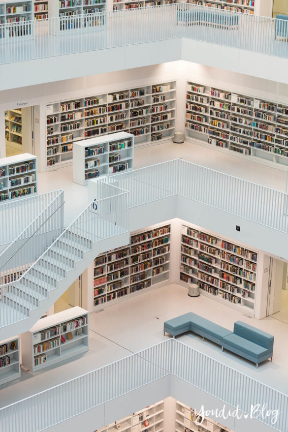 Stadtbücherei Stuttgart Bibliothek Library Grandiose Architektur | https://youdid.blog