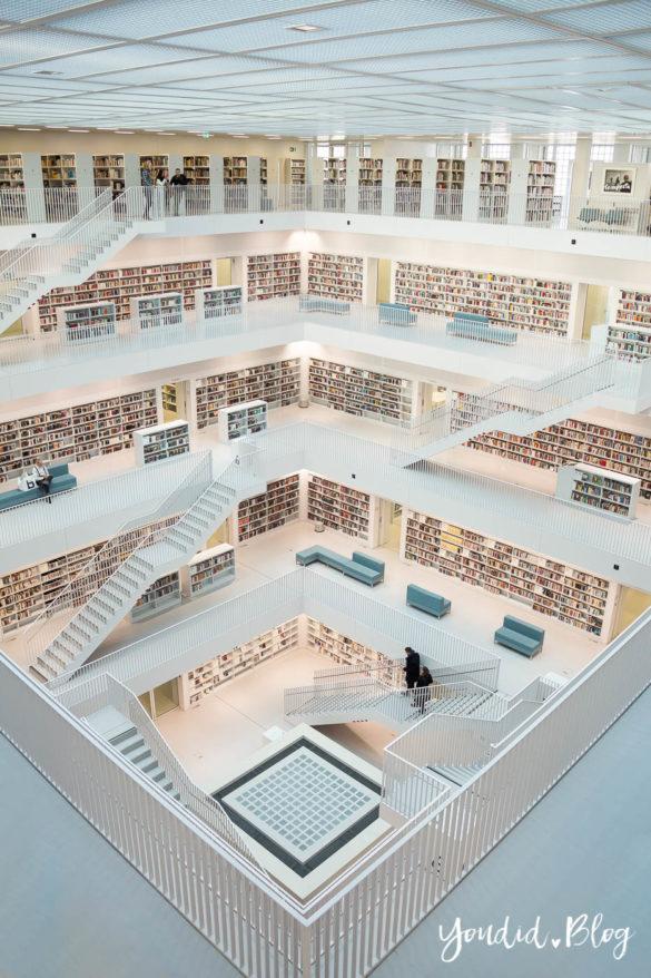 Stadtbücherei Stuttgart Bibliothek Library Stadtbibliothek Architektur Galerie | https://youdid.blog