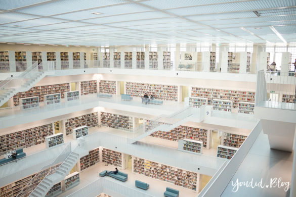 Stadtbibliothek Stadtbücherei Stuttgart Bibliothek Library | https://youdid.blog