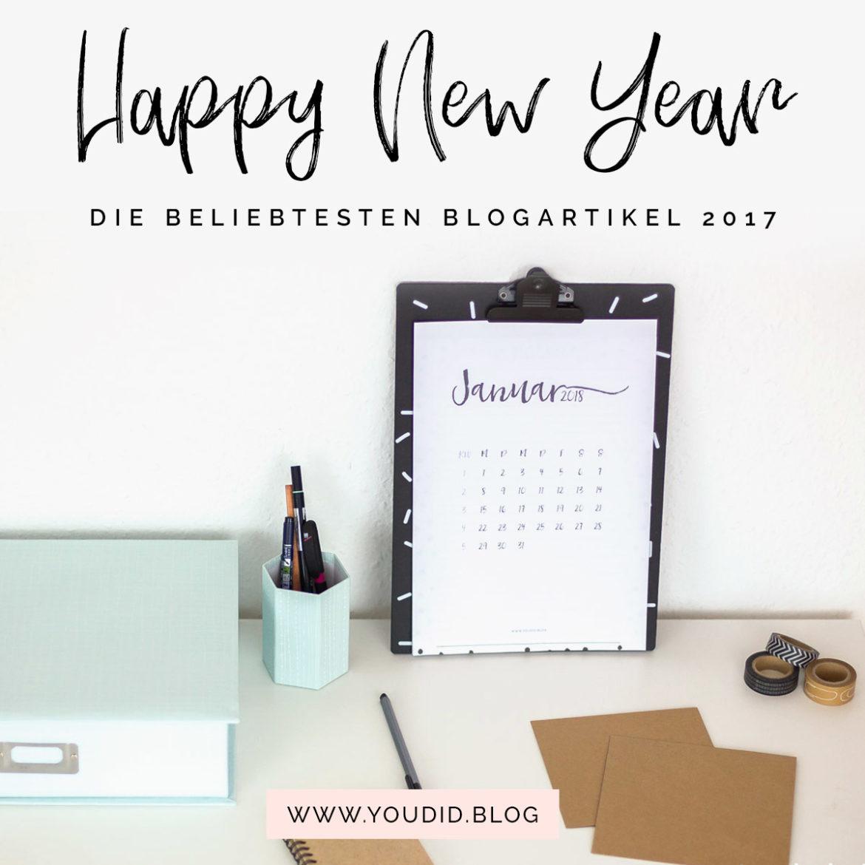 Happy New Year Jahresrückblick Frohes Neues Jahr Blog Rückblick | https://youdid.blog