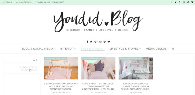 Wunschzettel Kinderzimmer schöne Produkte fürs skandinavische Kinderzimmer nordic kids interior | https://youdid.blog