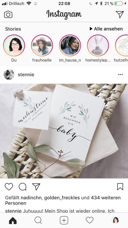 Anleitung für Instagram Stories - So funktioniert die neue Instagram Funktion neuer Feed | https://youdid.blog