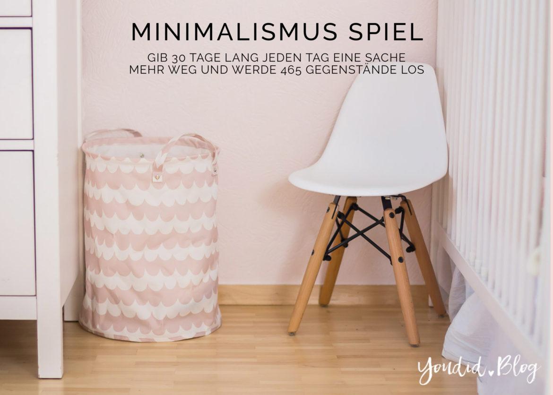 Minimalismus Spiel Challenge Minimalism Game | https://youdid.blog