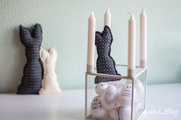 Schwarz weisse Ostereier ausblasen und anmalen Pilot Pintor Kreativmarker Black and White Eastereggs Easterdecoration minimalistische Osterdekoration | https://youdid.blog