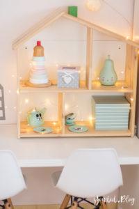 nordic kidsroom skandinavisches Kinderzimmer IKEA Puppenhaus Flisat   https://youdid.blog