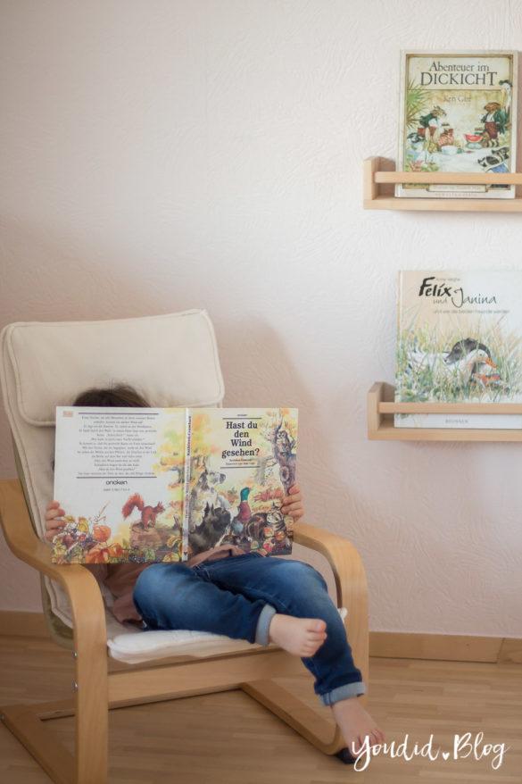 nordic kidsroom skandinavisches Kinderzimmer reading nook Lesecke | https://youdid.blog