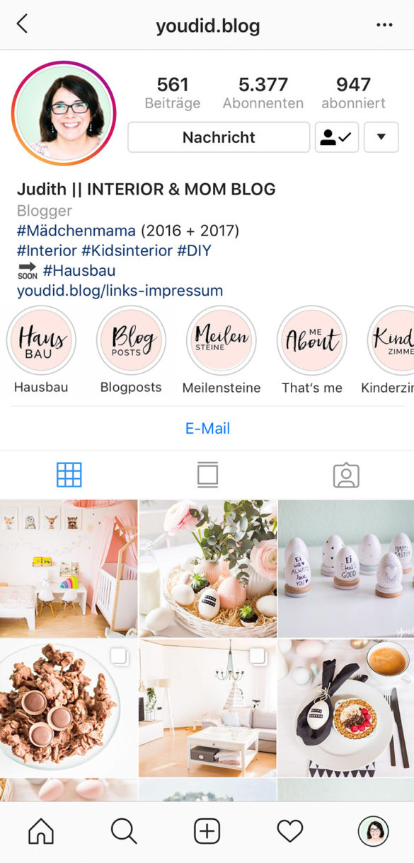 Free Instagram Story Highlight Icon Template Vorlage Titelbilder - How to make Instagram Story Highlight Cover | https://youdid.blog