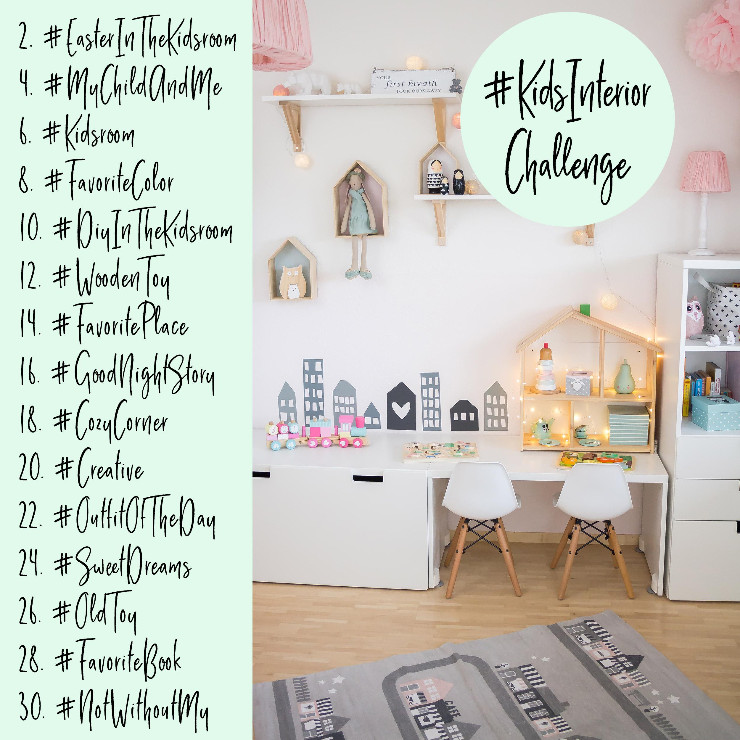 Instagram kidsinteriorchallenge inspiration f rs for Kinderzimmer instagram