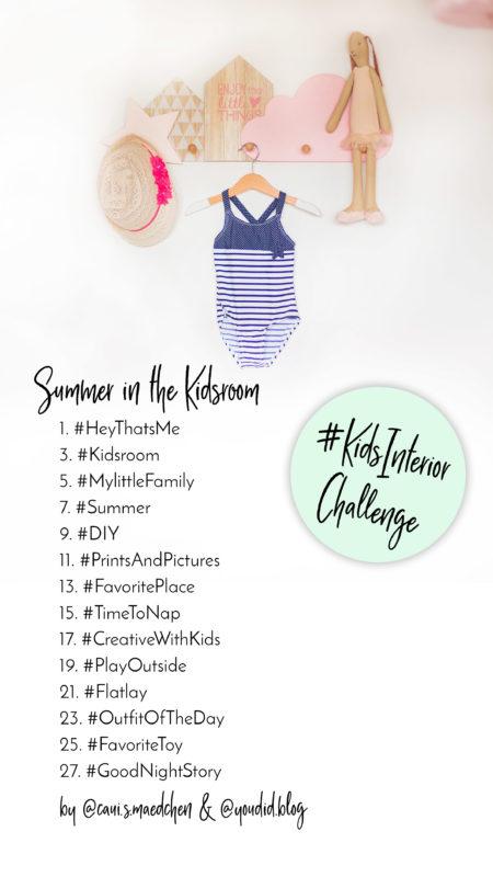 Instagram Kidsinteriorchallenge die zweite Instagramchallenge zum Thema Kinderzimmer | https://youdid.blog