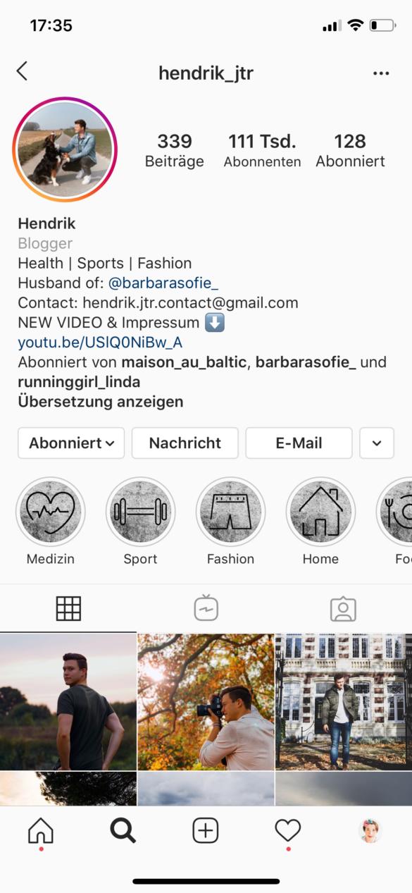 Schöne Instagram Highlight Cover erstellen How to make Instagram Highlight Cover Free Template kostenlose Vorlage Hendrik | https://youdid.blog