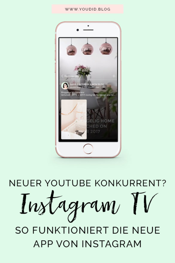 IGTV Anleitung - So funktioniert die neue Instagram Funktion Tutorial - Neuer Youtube Konkurrent - HowTo Instagram TV Guide   https://youdid.blog