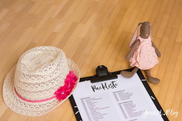 Kostenlose Kleinkind Packliste Freebie Download - Urlaub mit Baby und Kleinkind | https://youdid.blog