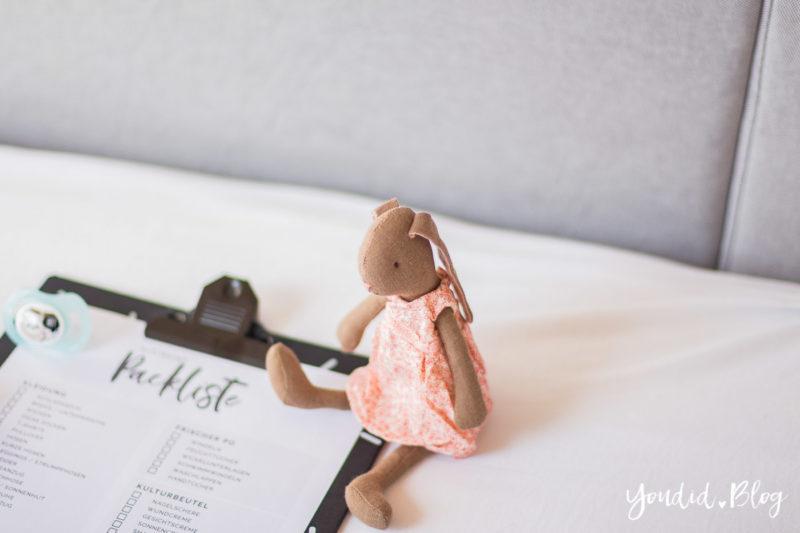 Kostenlose Kleinkind Packliste Freebie Download - Urlaub mit Baby und Kleinkind Checkliste | https://youdid.blog