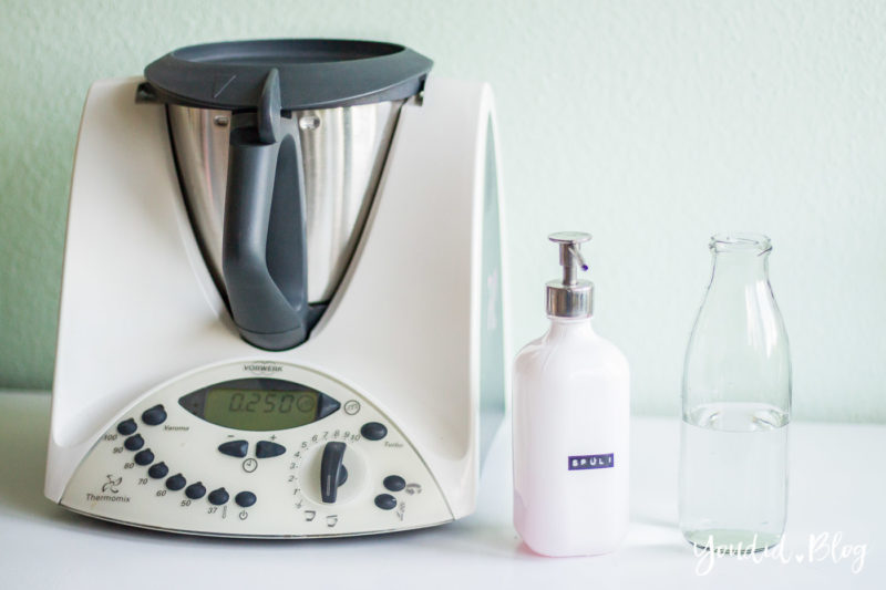 Selbstreinigungsfunktion vom Thermomix - So reinigt sich der Thermomix selbst - Self cleaning function of the thermomix | https://youdid.blog