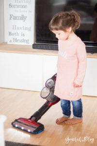 SpeedPro Max im Test - Kabelloser Akkustaubsauger Testbericht - Was für eine Erleichterung im Mamaalltag | https://youdid.blog