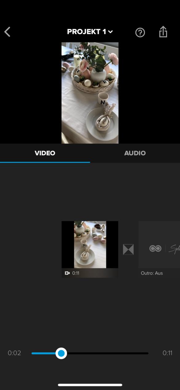 Videos im Hochformat schneiden und exportieren die besten Apps für Instagram Stories und IG TV mit Splice | https://youdid.blog