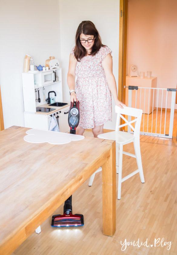 Wir testen den SpeedPro Max - Kabelloser Akkustaubsauger Testbericht - Was für eine Erleichterung im Mamaalltag | https://youdid.blog