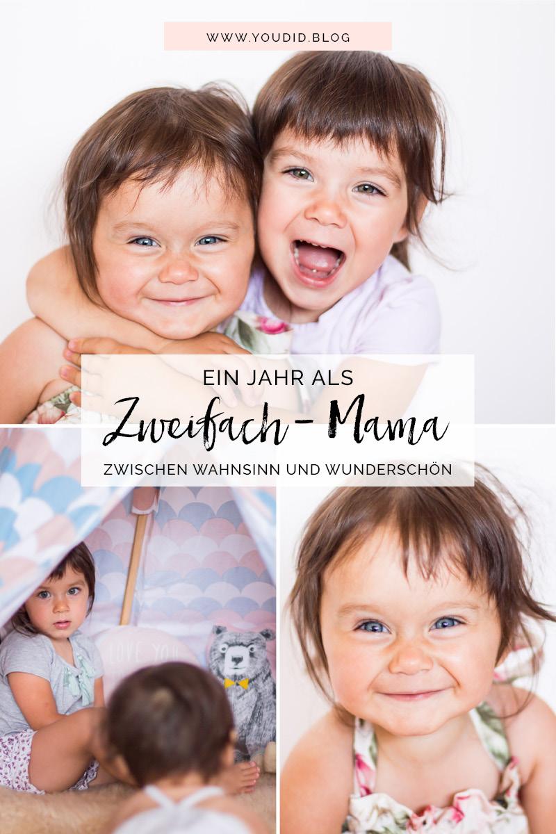 Ein Jahr Zweifach-Mama Zwischen Wahnsinn und wunderschön meine Gedanken zwei unter drei der richtige Altersabstand | https://youdid.blog