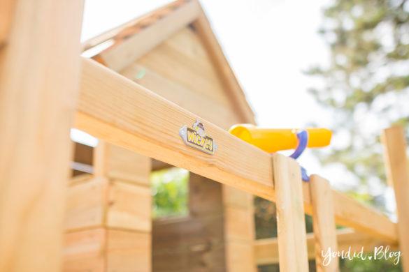 Ein Spielturm mit Rutsche Sandkasten Schaukel und Spielhaus - Unsere Erfahrung mit dem Wickey Spielturm | https://youdid.blog