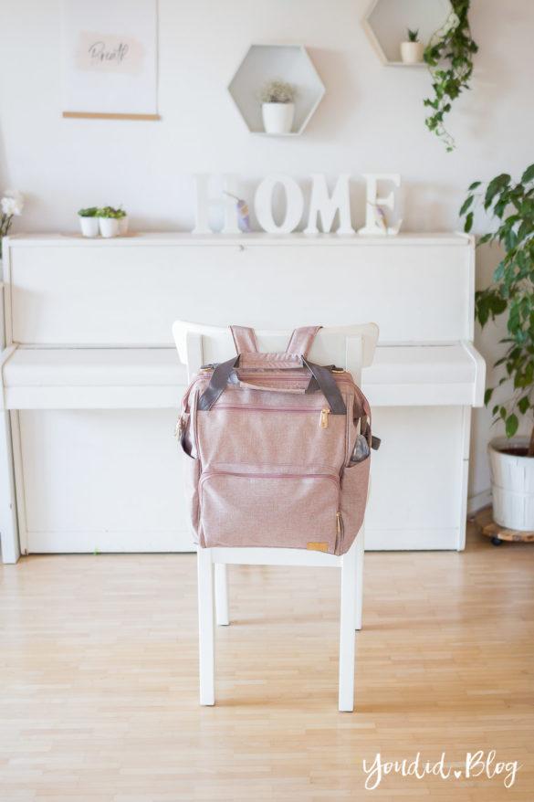 Eine schöne Wickeltasche finden mein neuer Wickelrucksack von Lässig | https://youdid.blog