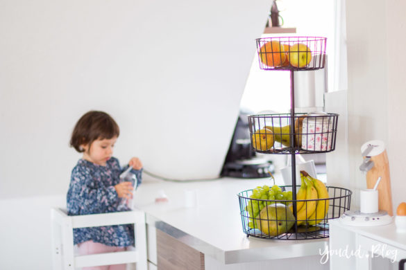 IKEA Hack DIY Learning Tower selber bauen Bauanleitung für einen Lernturm aus zwei IKEA Hockern | https://youdid.blog