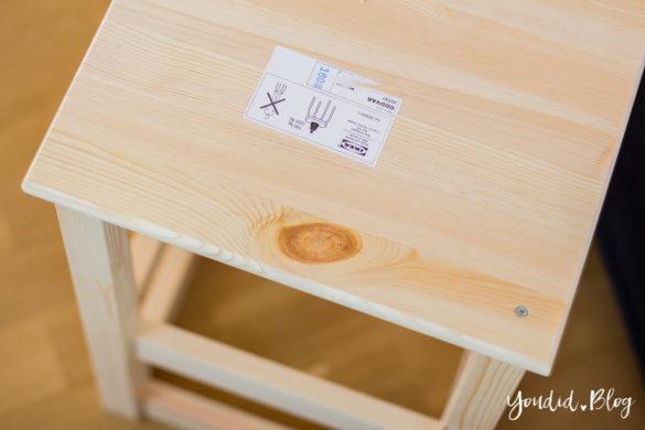 IKEA Hack Learning Tower selber bauen Bauanleitung für einen günstigen Lernturm aus IKEA Hockern | https://youdid.blog