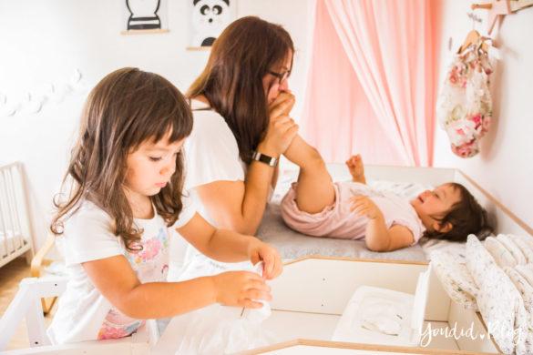 Leben mit Kindern - Grosse Geschwister helfen mit | https://youdid.blog