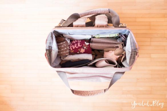 Wickeltasche oder Wickelrucksack was ist praktischer mit zwei Kindern - Was kommt mit in die Wickeltasche | https://youdid.blog
