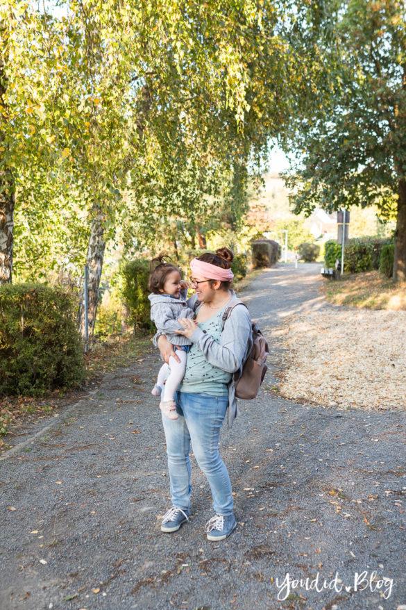 Wickeltasche oder Wickelrucksack was ist praktischer unterwegs mit zwei Kindern Glam Goldie von Lässig | https://youdid.blog