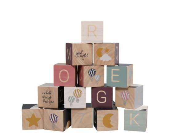Holz Baukloetze Wooden Blocks FILIBABBA Kleines Karussell | Special Blog Adventskalender auf https://youdid.blog