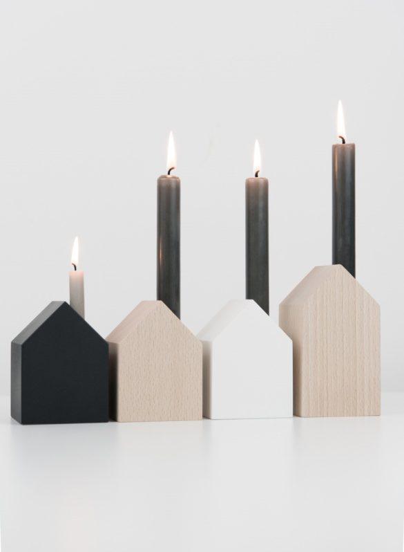 Holzhäuser Holzhaus Deko Kerzen Daheim Deko | Special Blog Adventskalender auf https://youdid.blog