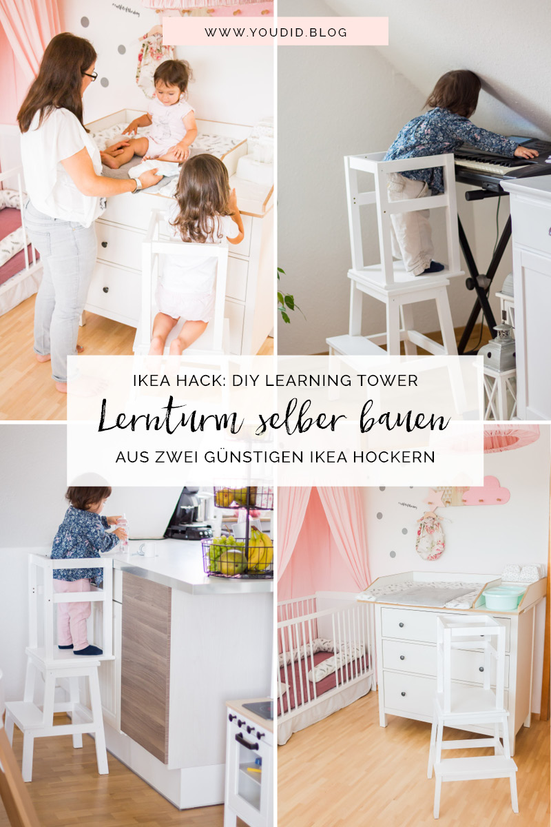 ikea hack diy learning tower selber bauen bauanleitung f r einen g nstigen lernturm aus ikea. Black Bedroom Furniture Sets. Home Design Ideas