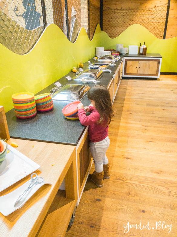 Luxus Familienauszeit im Dachsteinkönig das Familienhotel der Extraklasse Kinderbuffet | https://youdid.blog