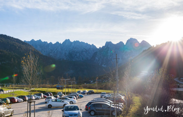 Luxus Familienauszeit im Dachsteinkönig das Familienhotel der Extraklasse Parkplatz | https://youdid.blog