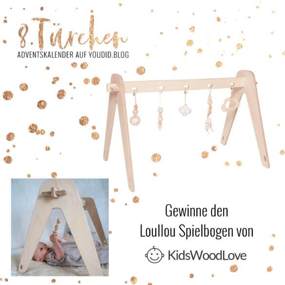 Gewinnbild Gewinne den Loullou Spielbogen von Kidswoodlove | Special Blog Adventskalender auf https://youdid.blog