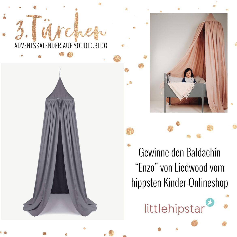Special Adventskalender auf Youdid.Blog Gewinnbild Gewinne einen Enzo Baldachin von Liewood Littlehipstar | https://youdid.blog