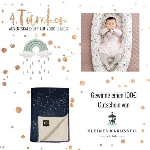 Special Adventskalender auf Youdid.Blog Gewinnbild Gewinne einen Gutschein von kleines Karussell   https://youdid.blog
