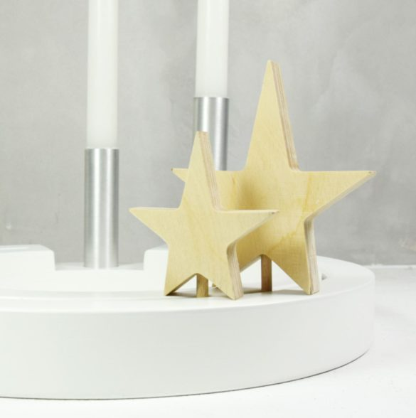 Sternenpaar Holzgalerie Hollstein | Special Blog Adventskalender auf https://youdid.blog